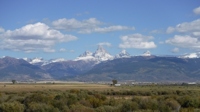Grand Tetons from Idaho
