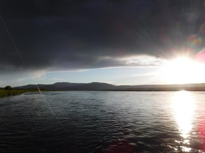 Sunset on the Henry's Fork
