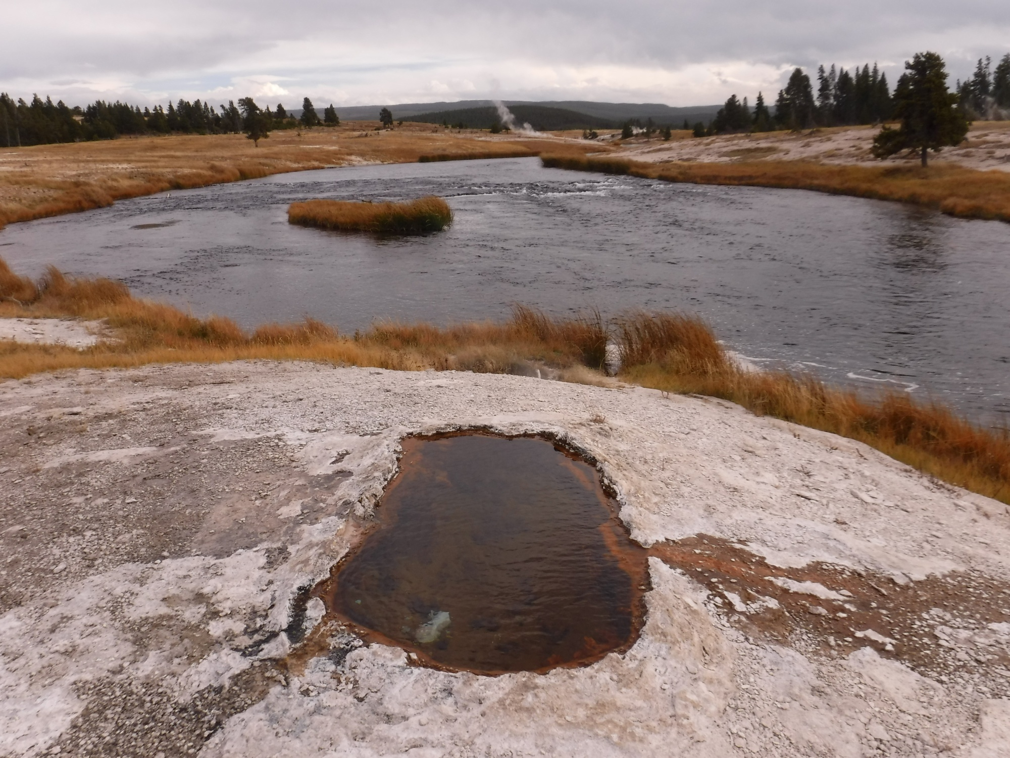 Thermal Feature on the Firehole