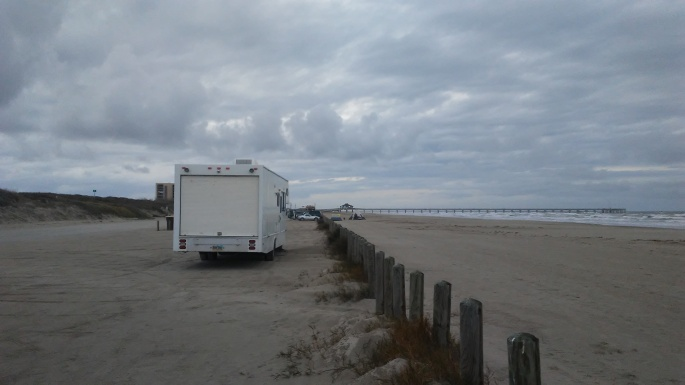 Port Aransas Beach in January