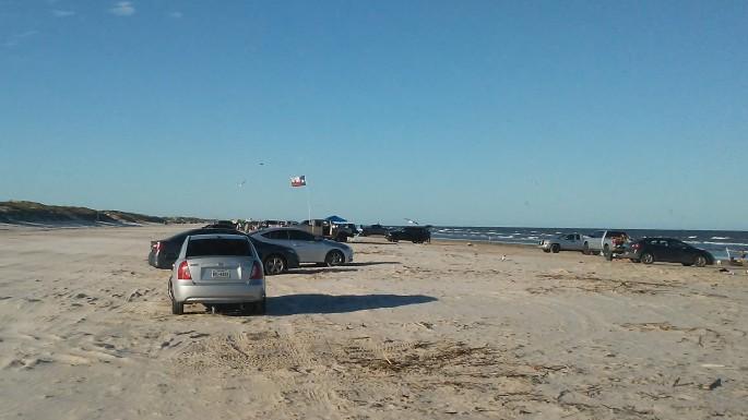 Texas Beach Camping