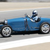 I did the engine for this Bugatti T35B and looked after it at Monterey.