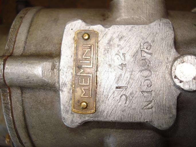 Memini carburetor markings