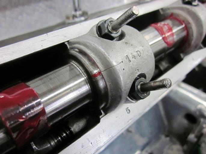 Bugatti Type 57 cam marks