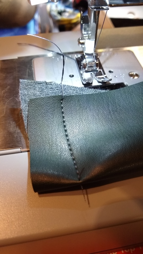 Learning to stitch with the new Singer