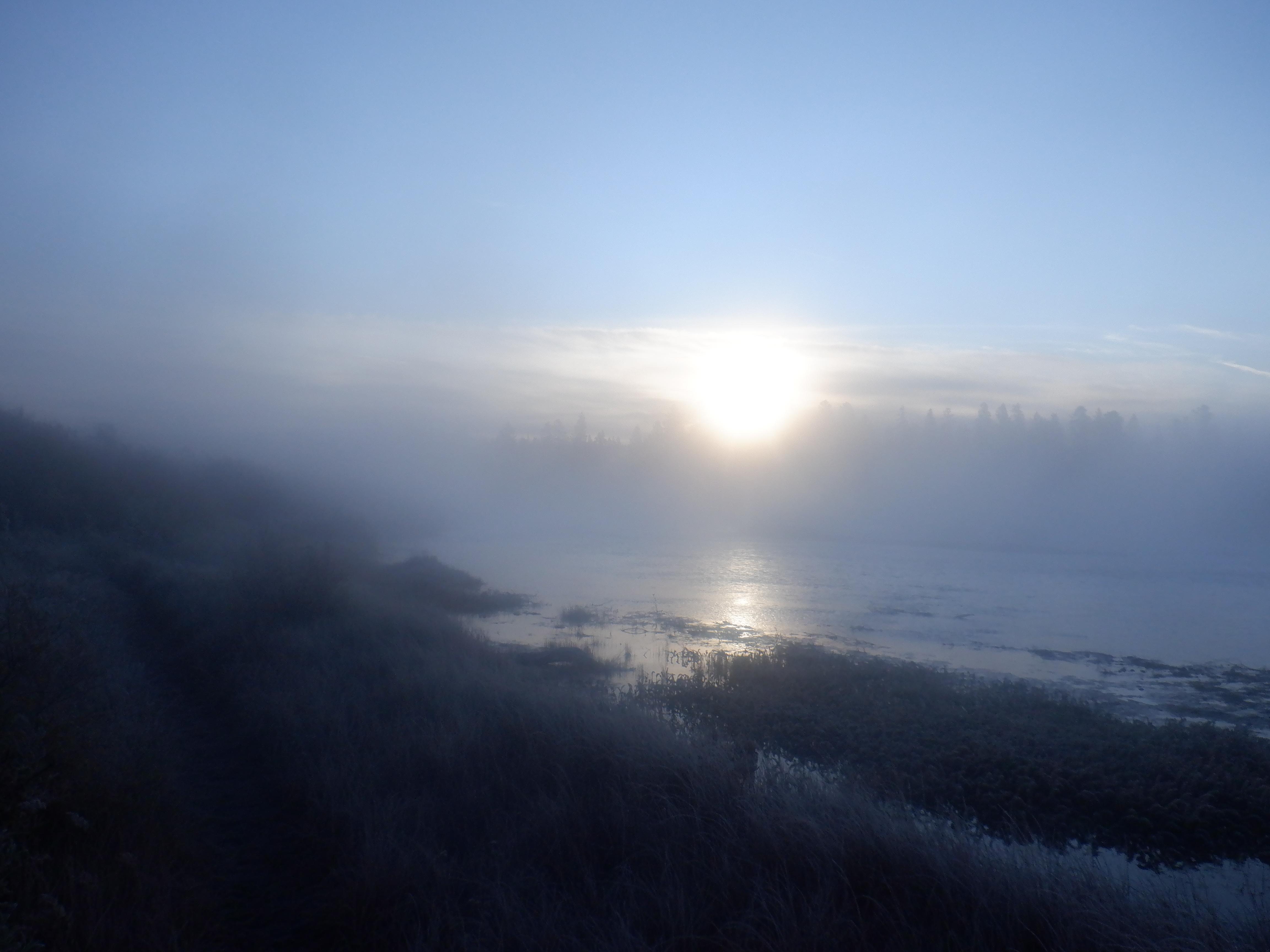 Sunrise at Bakers Hole